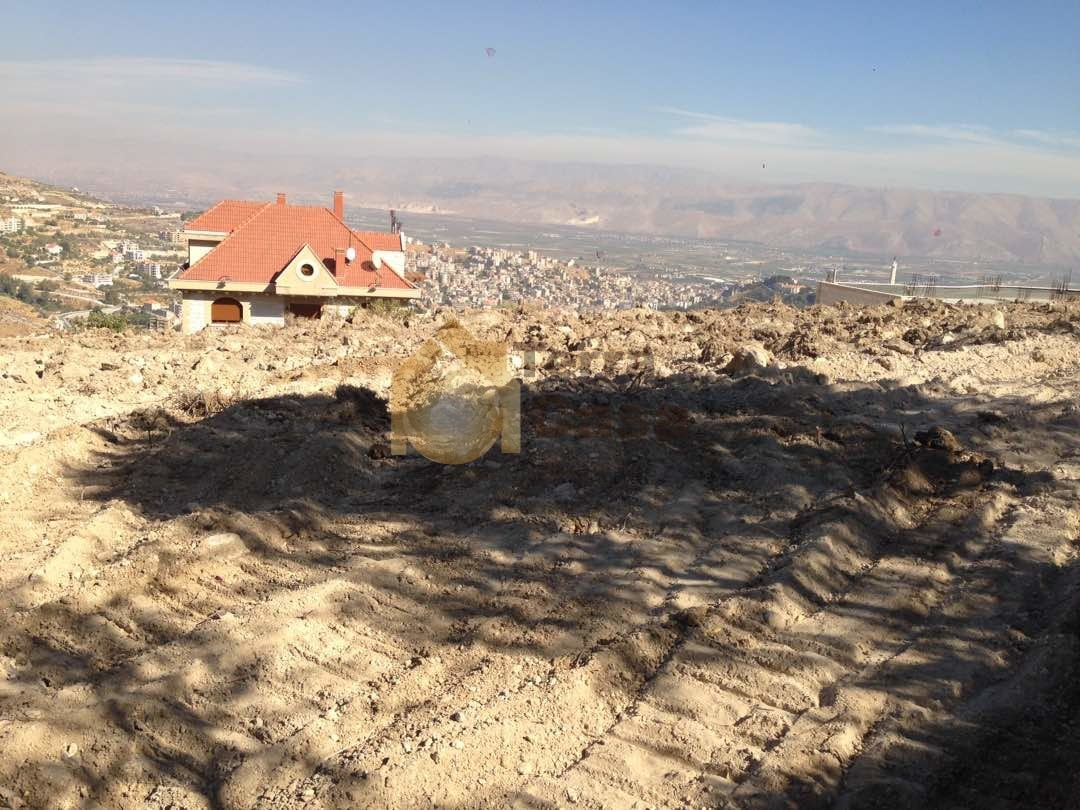 land for sale in Zahle dhour amazing with panoramic view