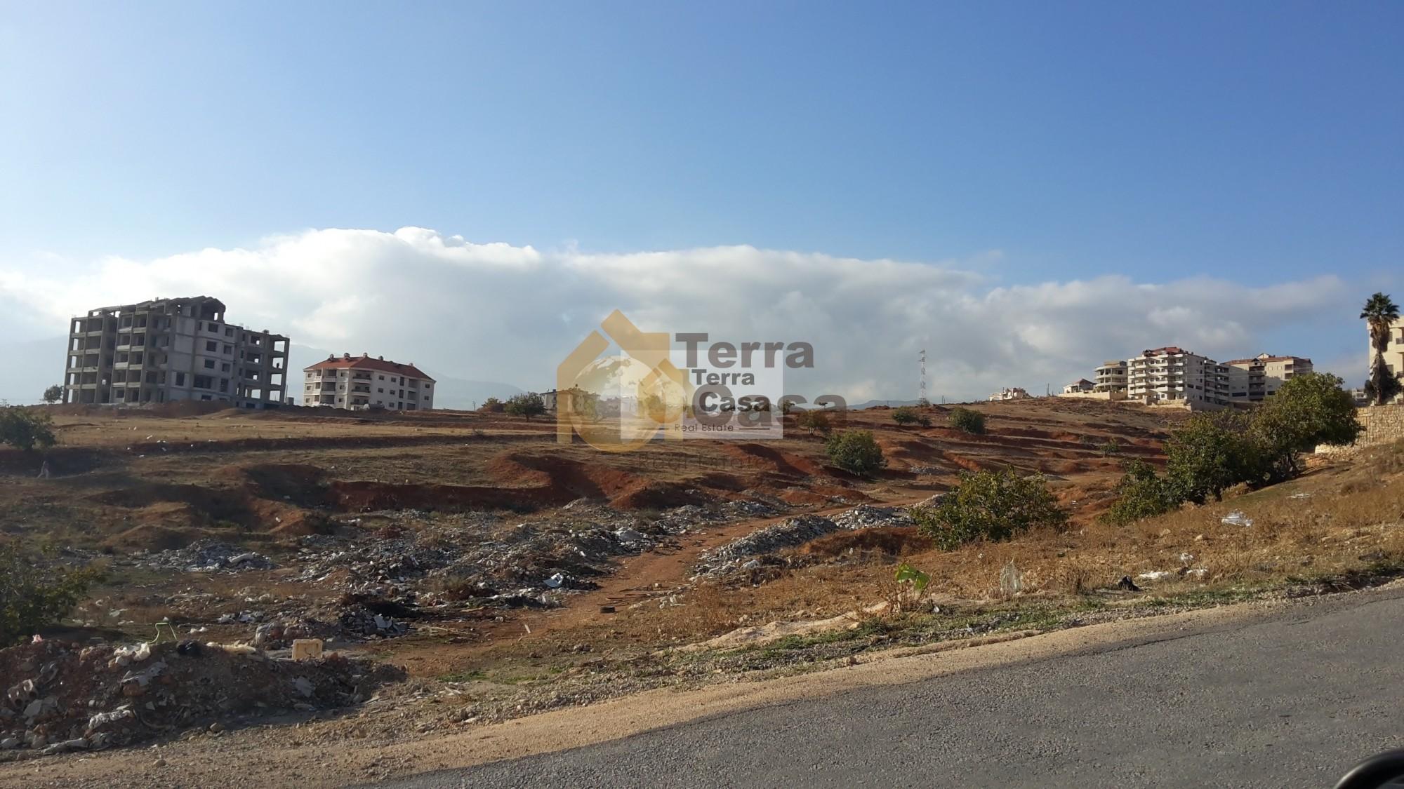 land for sale in zahle ksara .