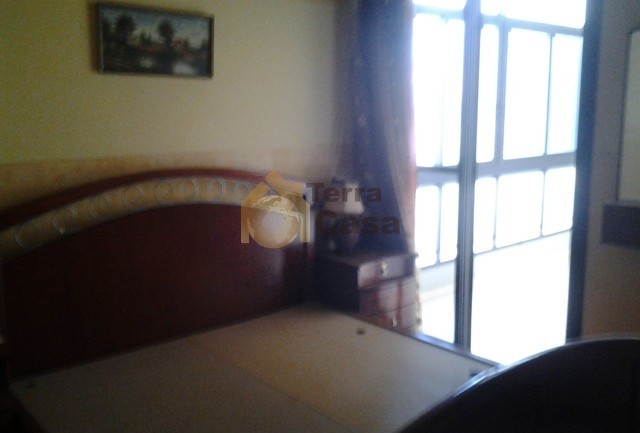 apartment for rent in zahle ksara fully furnished open view .