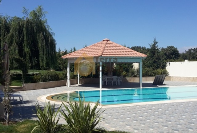 villa for sale in anjar amazing fully decorated with private swimming pool