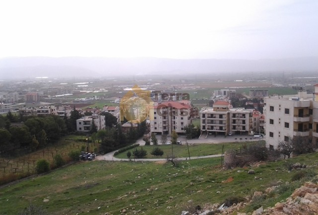 land in ksara with panoramic view