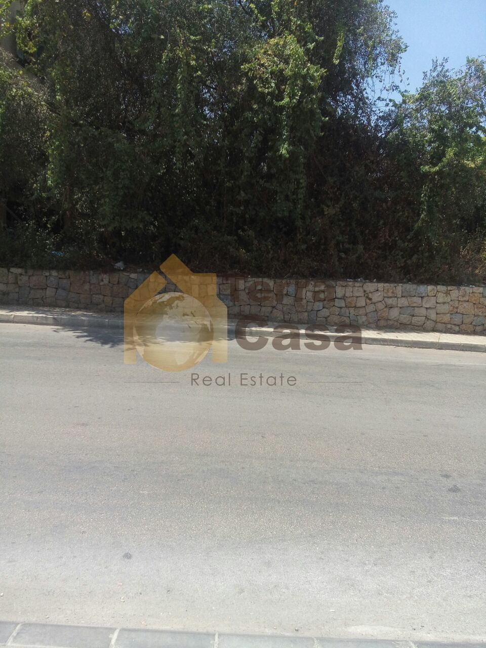 land for sale in naccache prime location linking three roads.