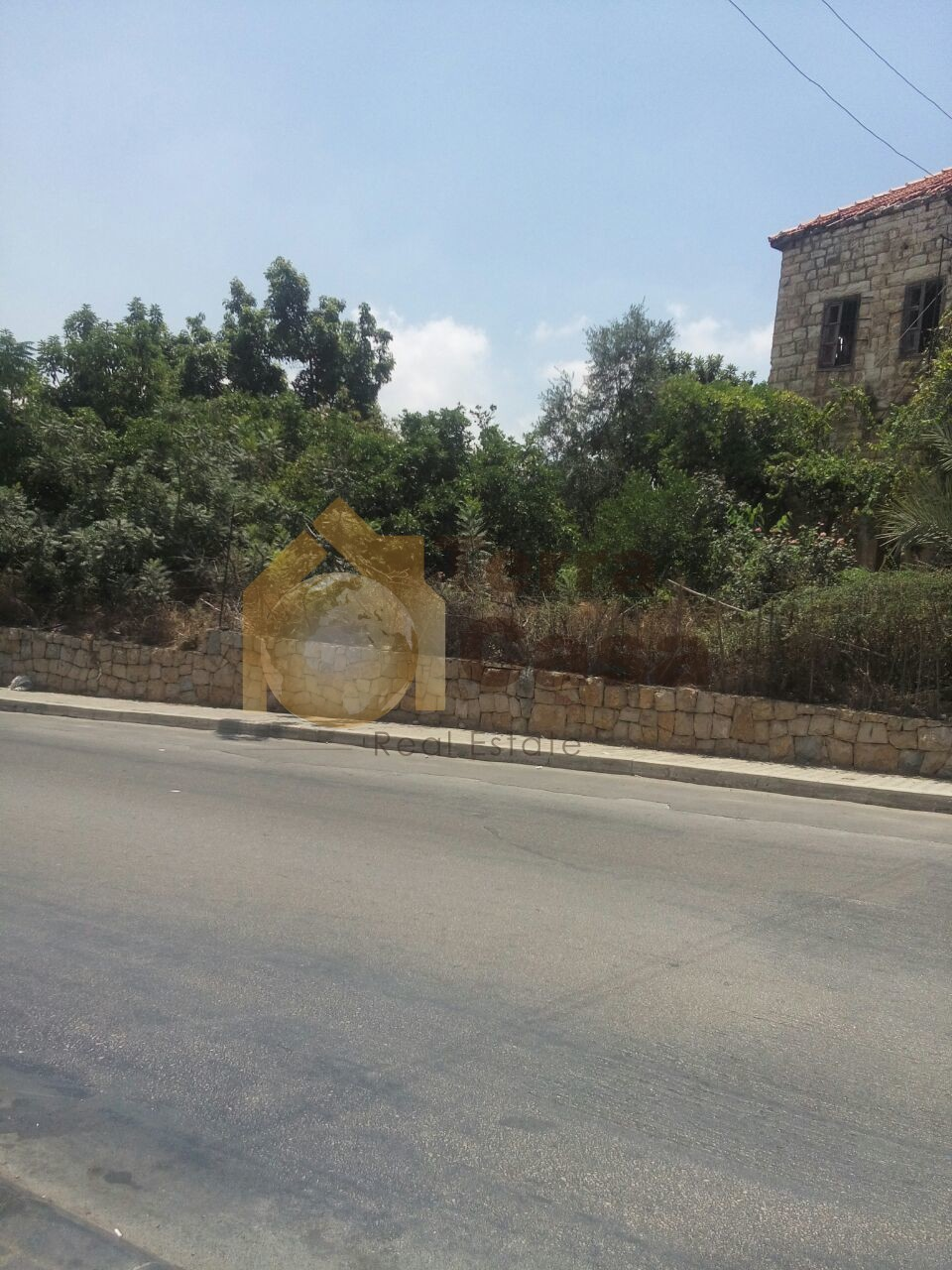 land for sale in naccache close to the highway  .