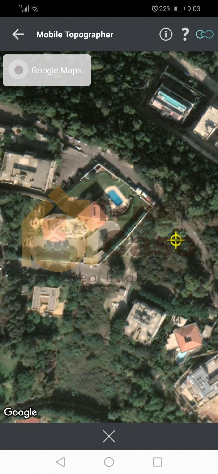 Land for sale in baabda yarzeh prime location.