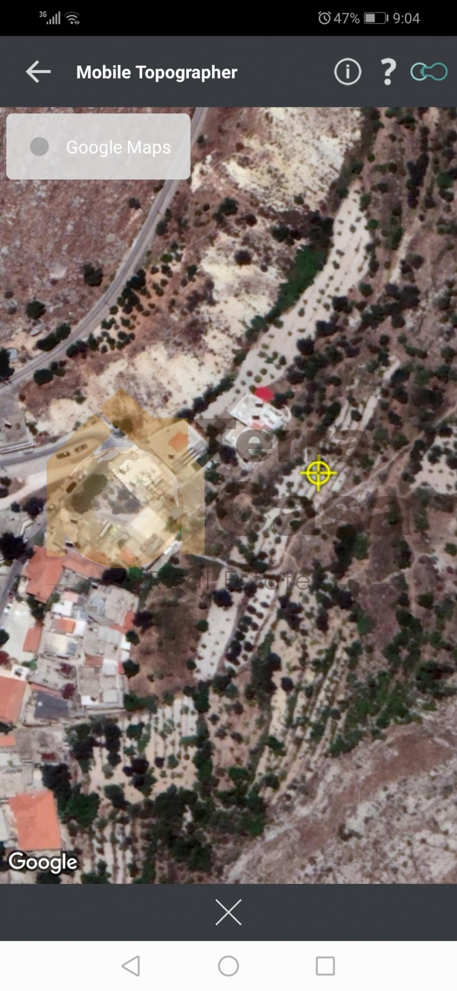 Land for sale in zahle wadi el arayesh 1200 shares .