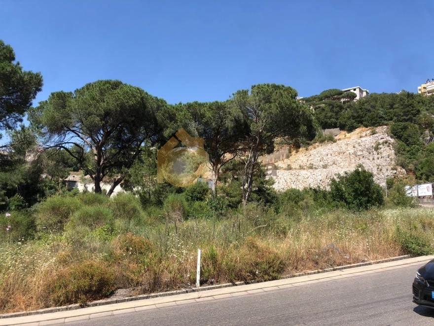 land for sale in Broumana nice location .