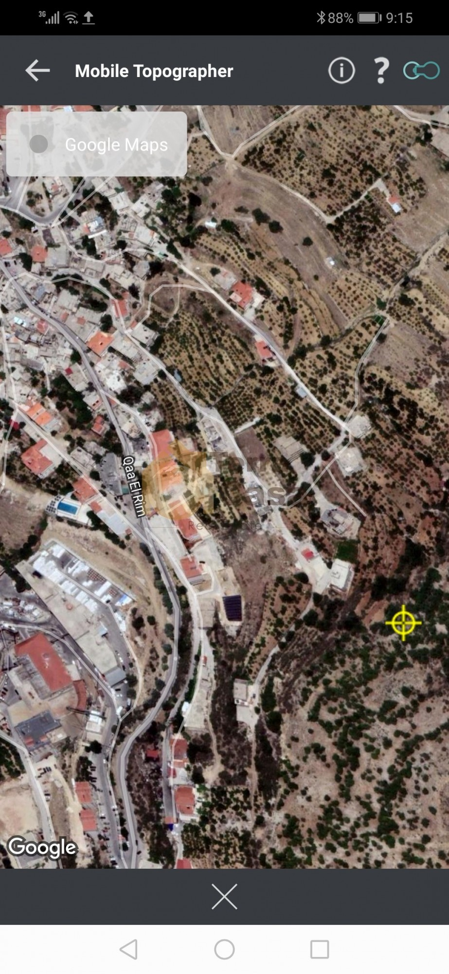 Land in qaa el rim cash payment.