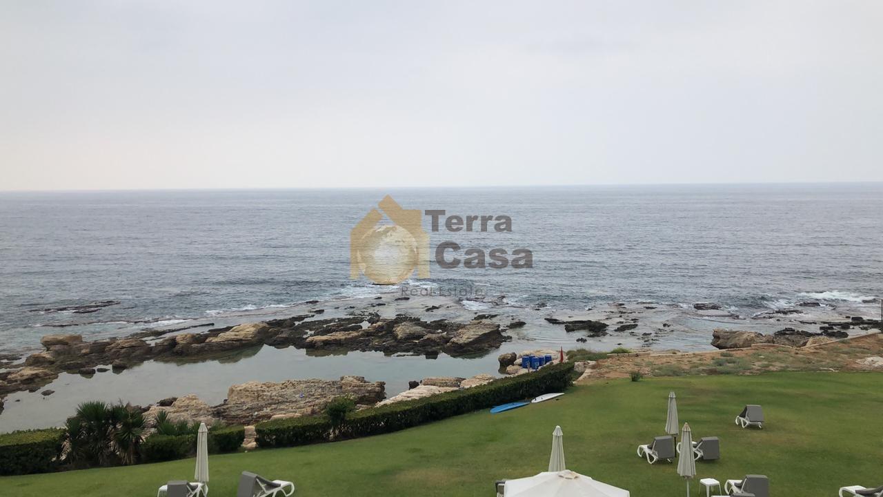 Chalet for sale at beach resort  panoramic sea view .Monsef jbeil
