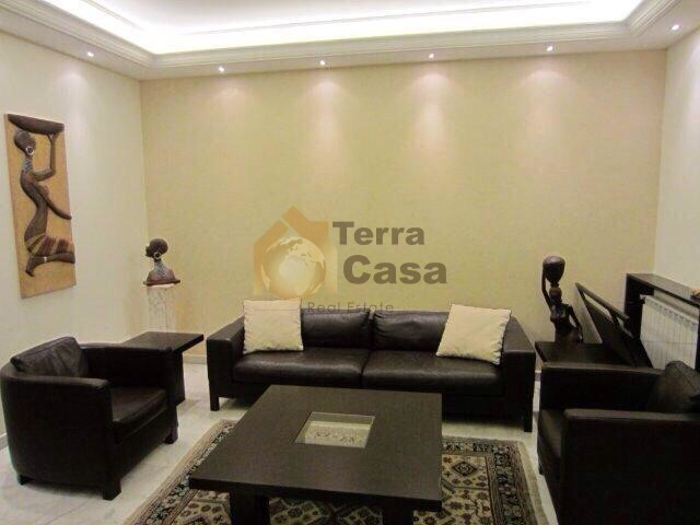 Fully furnished apartment garden 150 sqm cash dollars.