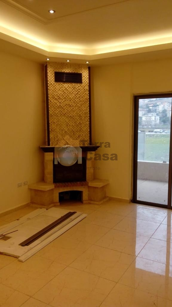 Fully decorated apartment brand new .