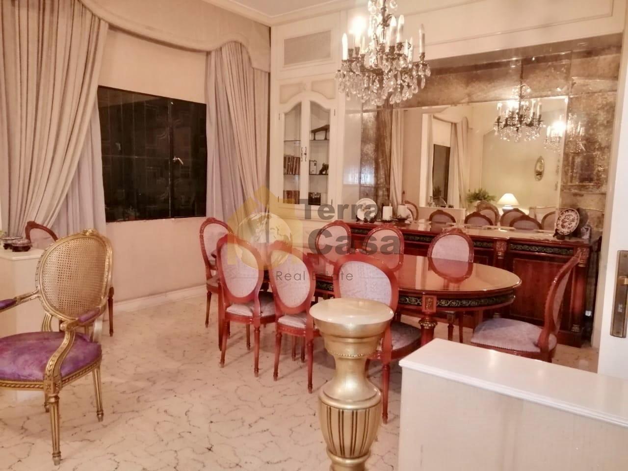 Ashrafieh 180 sqm furnished 3900000 LBP per month..