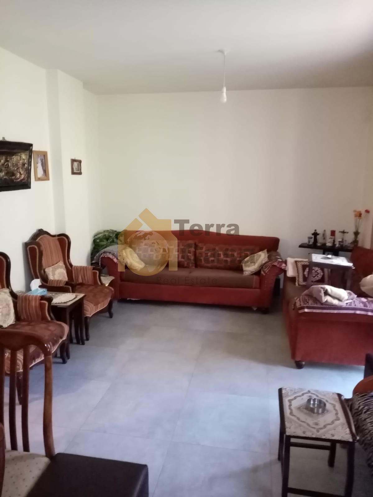 Apartment fully decorated for sale .