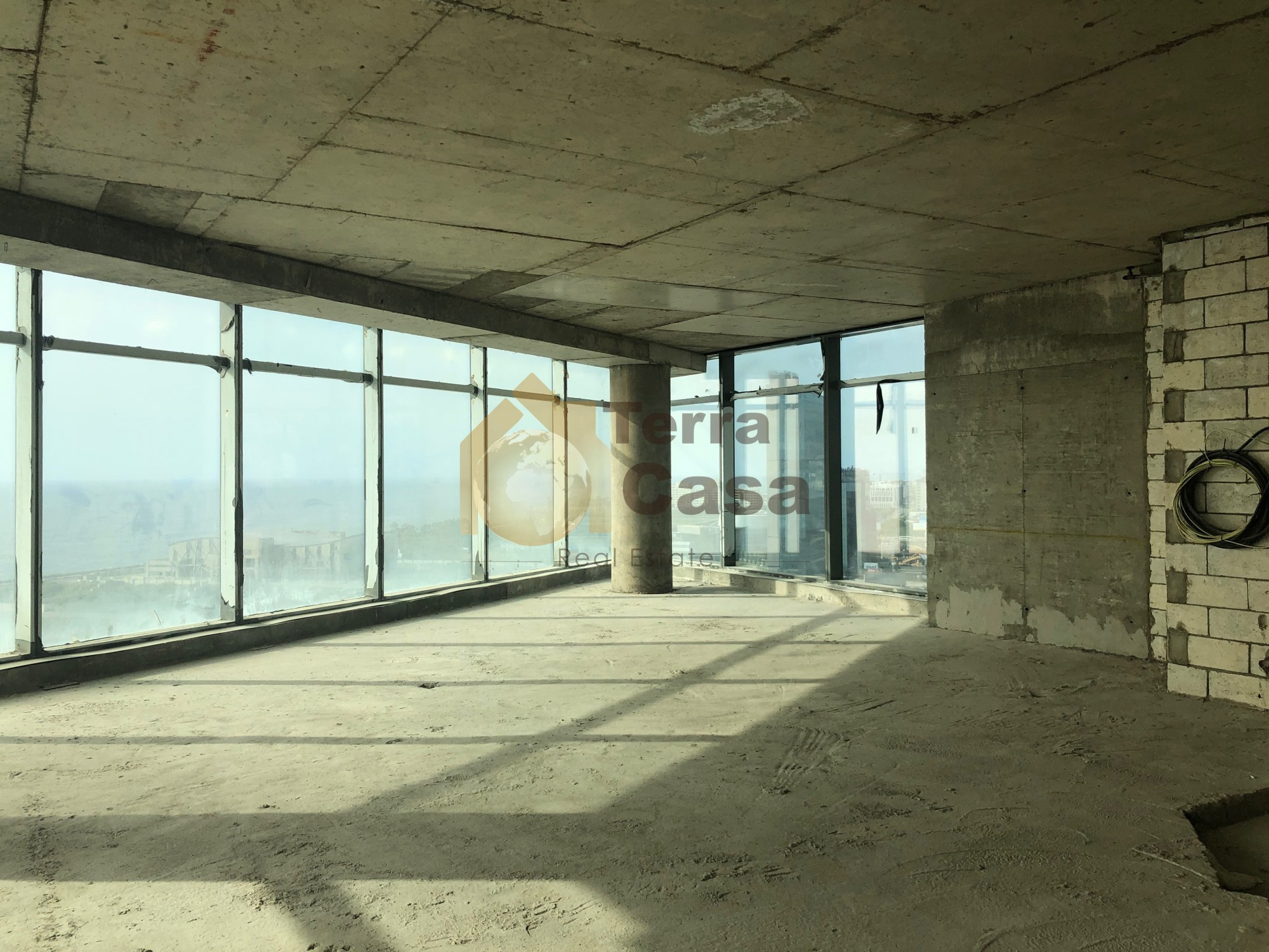 Antelias core & shell office for rent (Banker Check)