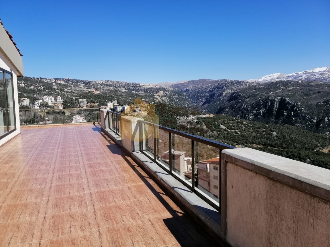 Duplex in klayaat  brand new  mountain panoramic view cash payment.