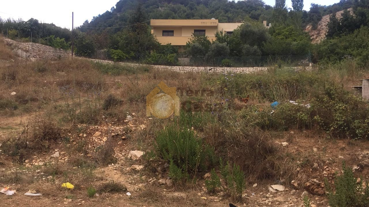 Land for sale in Chahtoul located in calm area  mountain view
