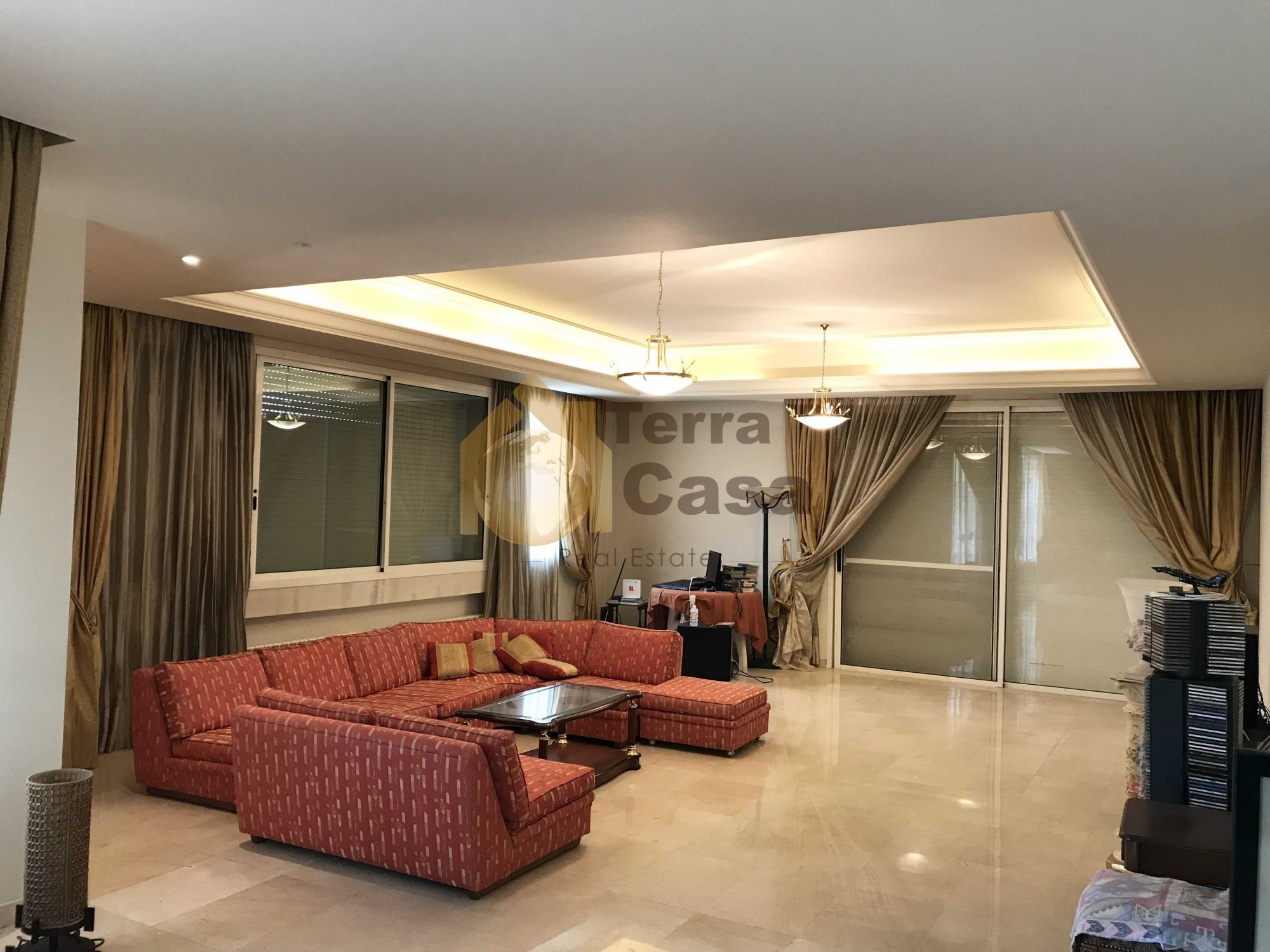 Luxurious fully furnished apartment in Baabda cash payment.