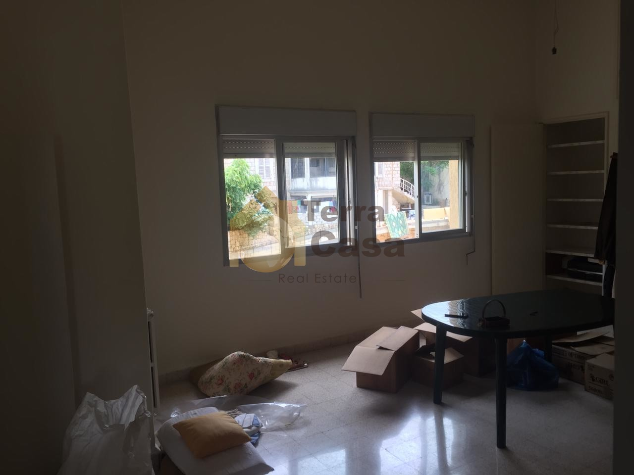 Semi furnished apartment for rent cash payment.